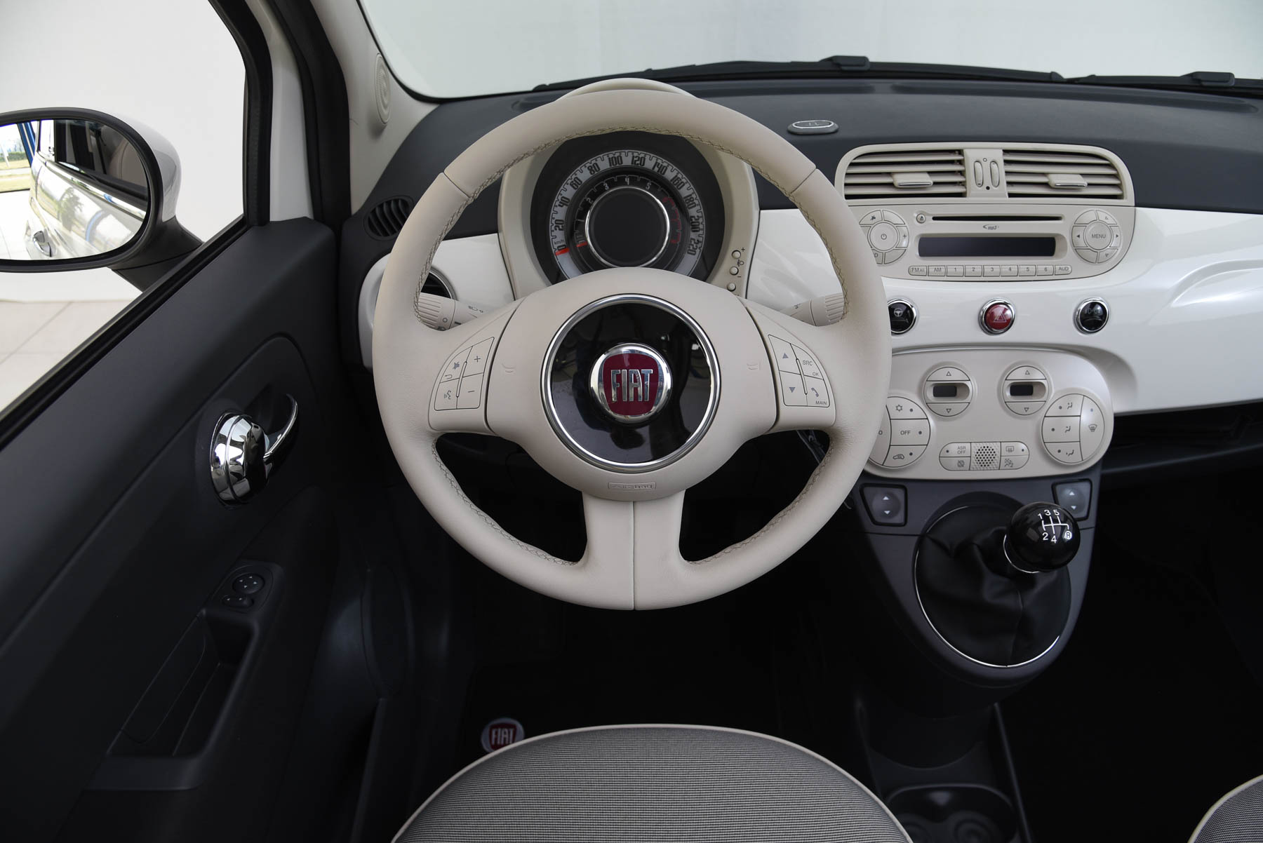 Fiat 500 lounge cabriolet for Interieur online